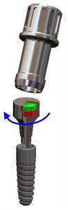 Einschrauben Titanmagnetics