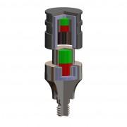 Schnittbild des T-Line Magneten