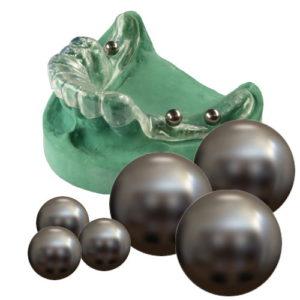 StecoGuide Referenzkugeln aus Titan