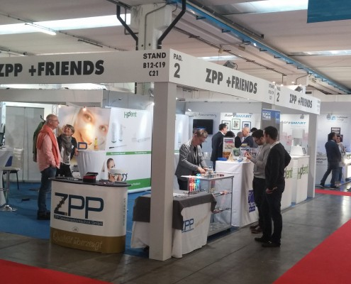 Booth ZPP+Friends in Brescia 2015