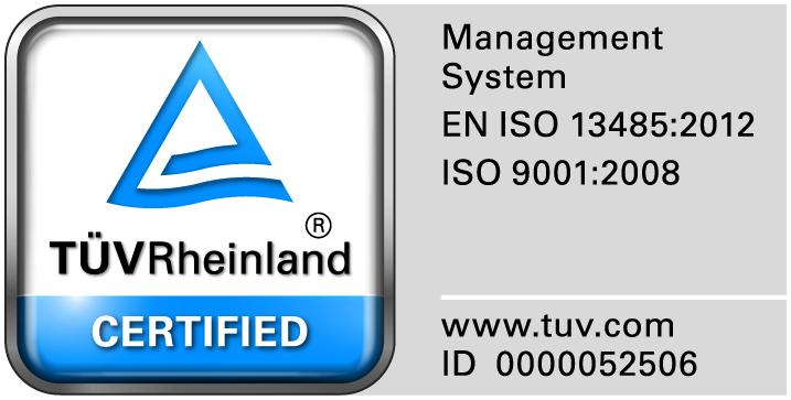TüV Logo Zertifikat