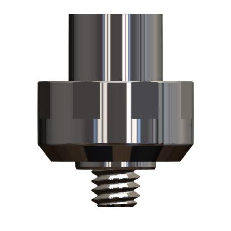 Titanmagnetics Insert T-Line für MEDICON-Epithesen-Basispfosten