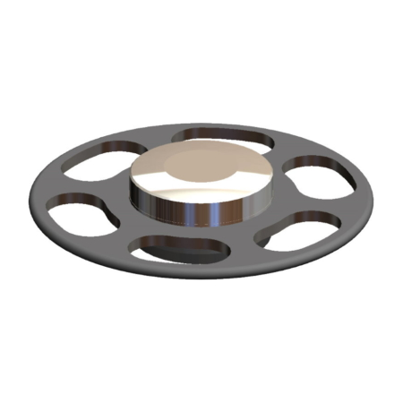 Titanmagnetics Obturatormagnet für Silikon