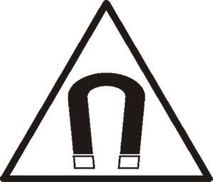 Magnetwarnung Symbol