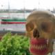 Magnetprothesenträger Jose schaut auf den Hafen