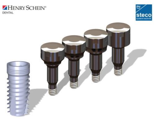 Titanmagnetics für Alphatech Henry Schein